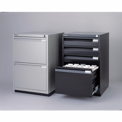 Bisley 2-Drawer Filing Cabinet