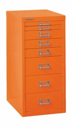 Bisley 8 Drawer Under Desk Multidrawer Cabinet