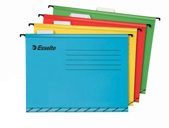 Esselte Foolscap and A4 Hanging Folders