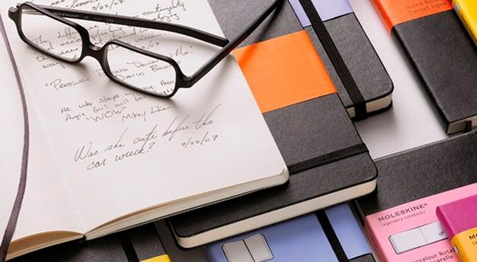 Moleskine Diaries, Notebooks and Planners