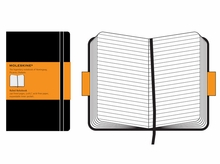 Moleskine Large Ruled Notebook Hard Cover in Black