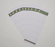 Replacement Spine Labels for Leitz Deluxe A4 Binder 1010