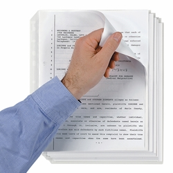 U.S. Letter Size High Capacity Sheet Protectors