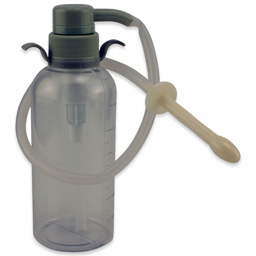 An Enema Pump - Manually Pump Water Into Your Rectum