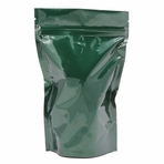 1 LB Stand Up Zip Pouch (Green)