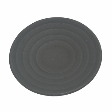 Black Cast Iron Saucer