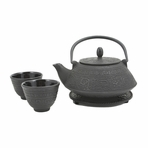 Black Shogun Tetsubin Tea Set