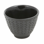 Black Traditional Cast Iron Teacup