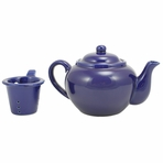 Blue Teapot with Infuser