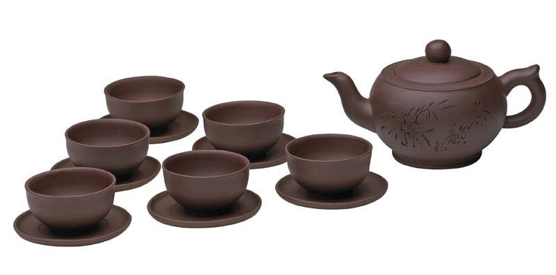 Chinese Gongfu Zisha Clay Tea Set Enjoyingtea Com