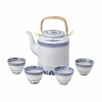 Classical Blue & White Chinese Tea Set