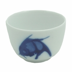 Classical Chinese Carp Teacup