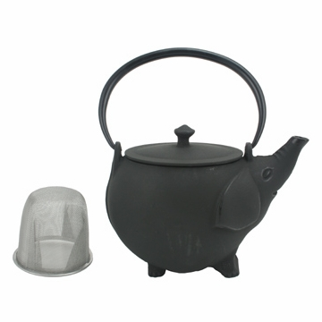 Elephant Cast Iron Teapot