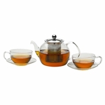 Eternal Sunrise Glass Tea Set