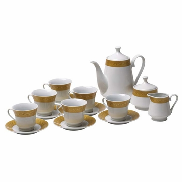 Golden Age English Porcelain Tea Set