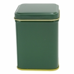 Green Tin Canister (3.4 oz - 5.6 oz)