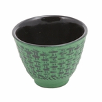 Green Traditional Cast Iron Teacup