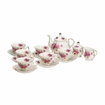 Imperial Palace Fine China English Tea Set