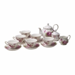 Imperial Palace New Bone China English Tea Set