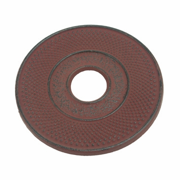 Red Cast Iron Trivet