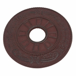 Red Classical Iron Trivet