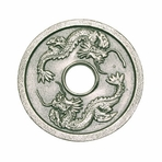 Silver Dragon Cast Iron Trivet