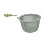 Tea Strainer with Handle (66-72mm dia, 38mm ht)