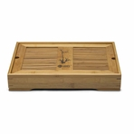 Traditional Chinese Bamboo Tea Tray