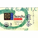 Yamamotoyama Organic Decaf Sencha Tea Bag (Organic Decaf Green Tea)