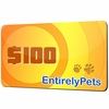 $100 EntirelyPets.com Gift Certificate