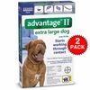 12 MONTH Advantage II Flea Control Extra Large Dog (for Dogs Over 55 lbs.)