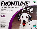 12 Month Frontline PLUS Flea/Tick Control (12 applications)