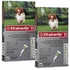 12 MONTH K9 ADVANTIX II GREEN Small Dog (for dogs up to 10 lbs.)