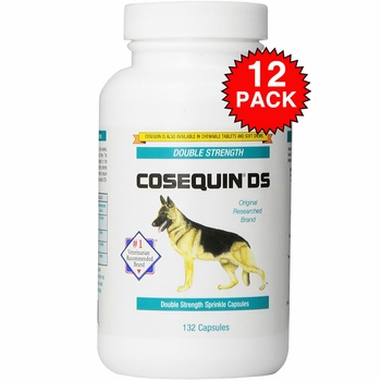 12-PACK Cosequin DS 132 Count (1584 tablets) CAPSULES