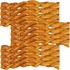 "12 PACK Redbarn 7"" Braided Bully Stick"