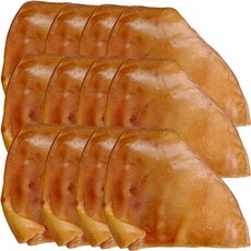 12 PACK Spizzles Premium Pig Ears (Each)