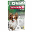 2 MONTH K9 Advantix II GREEN for Small Dogs (upto 10 lbs)