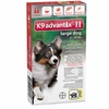 2 MONTH K9 ADVANTIX II RED Large Dog (for dogs 21-55 lbs)