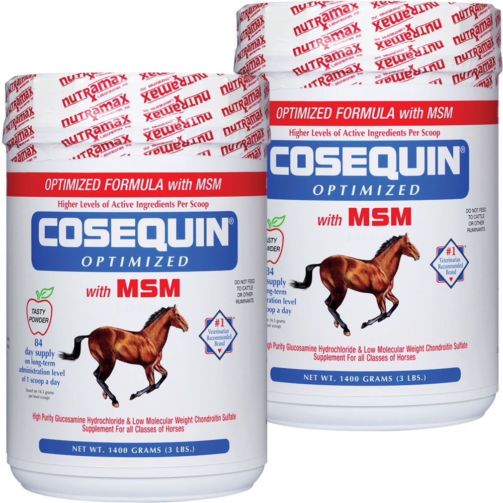 2 PACK Cosequin� Equine OPTIMIZED with MSM (2800 gm)
