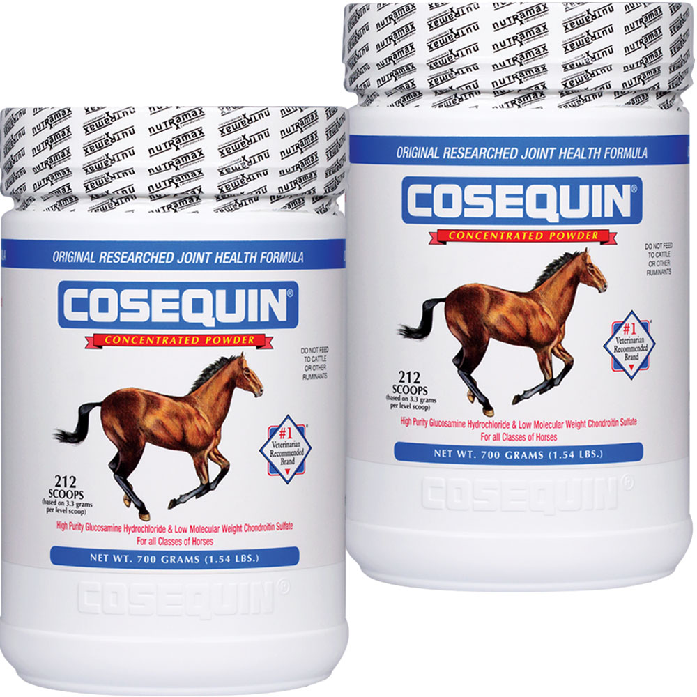 2 Pack Cosequin� EQUINE Powder Concentrate (1400 gm total)