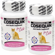 2 pack cosequin for cats 80 count 160 capsules. Black Bedroom Furniture Sets. Home Design Ideas