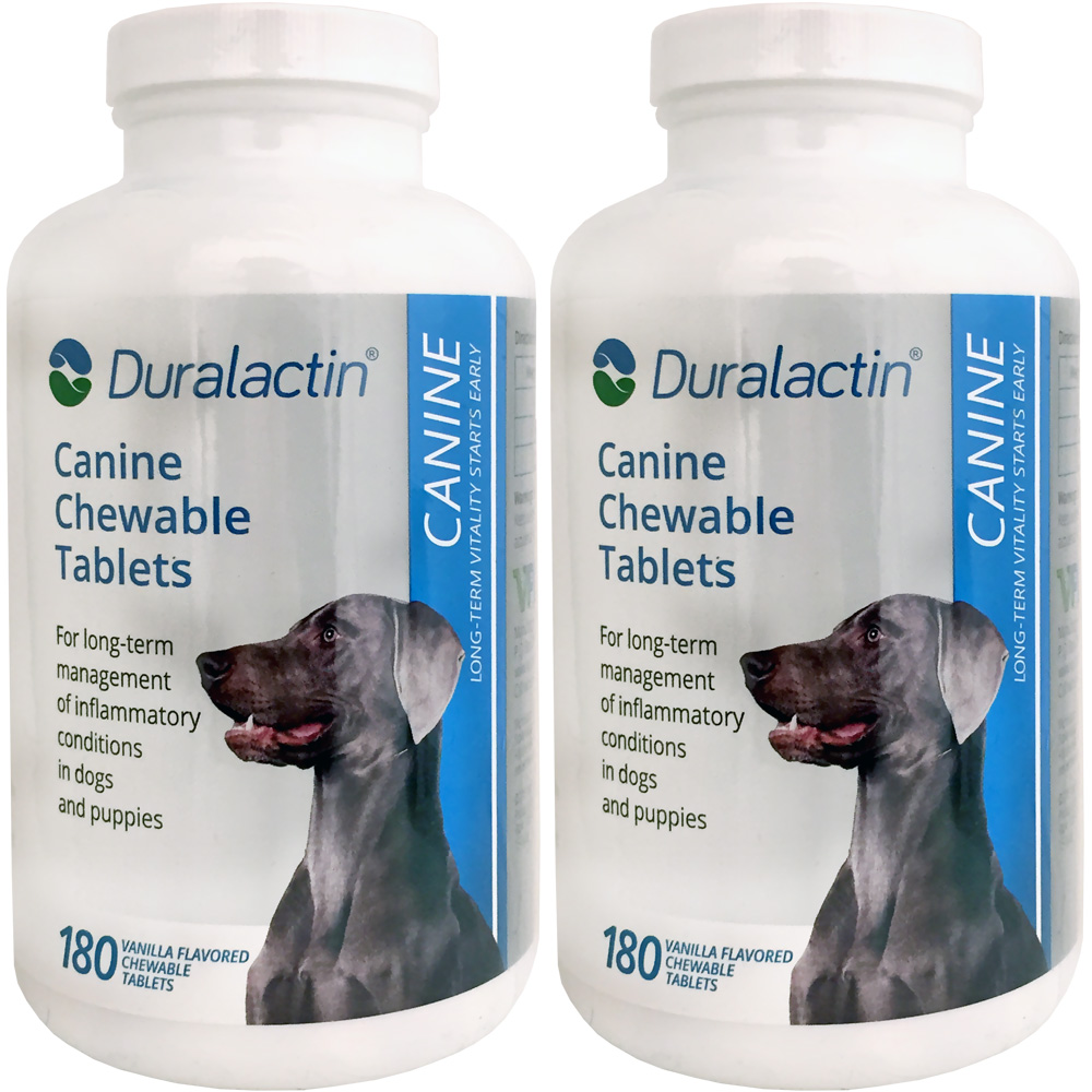 2-PACK Duralactin Canine 1000 mg (360 Tablets)