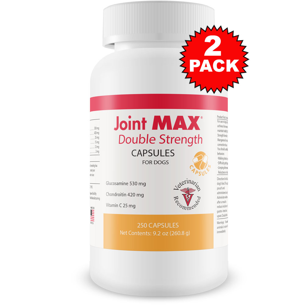 2-PACK Joint MAX Double Strength Capsules (500 Count)