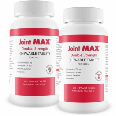 2-PACK Joint MAX Double Strength (500 Chewable Tablets)