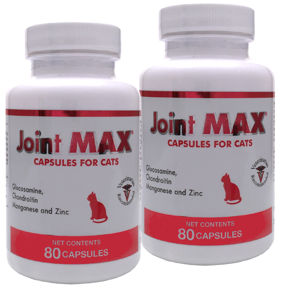 2-PACK Joint MAX® Capsules for Cats (160 Count)