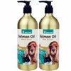 2 PACK NaturVet Unscented Salmon Oil (34 fl oz)