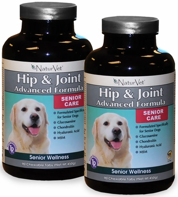 2 PACK Senior Hip & Joint Time Release (180 Tabs)