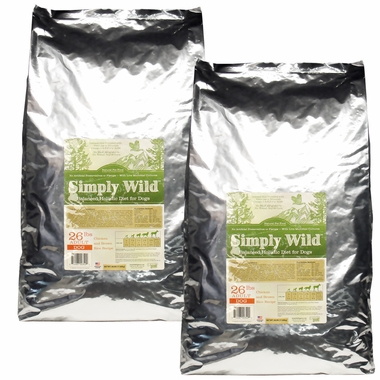 2-PACK Simply Wild™ Chicken & Brown Rice Dog Food (52 lbs)