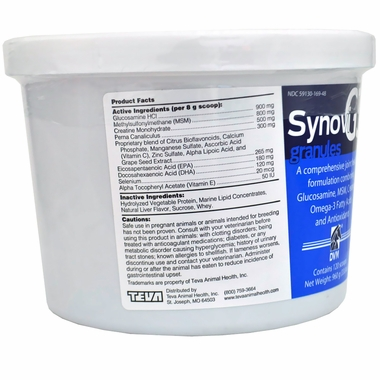 2-PACK SynoviG3 GRANULES for Dogs and Cats (1920 gm) by DVM