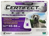 3 Month CERTIFECT PURPLE for Dogs 45-88 lbs